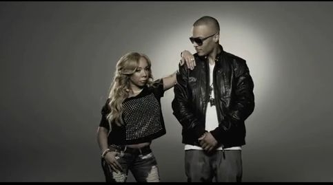 """Family Hustle"" is a long overdue show. I like that modern-day ""The Cosby Show"" feel for it. Rev Run did it first, but T.I. kept it going. I respect any man who doesn't hide his significant other. This video is ""I Got Your Back"" by T.I. featuring Keri Hilson. Main attraction though is Tameka ""Tiny"" Harris."