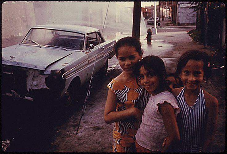 a beautiful collection of vintage photos of Brooklyn taken in in the summer of 1974. Photographer Danny Lyon spent two months snapping pictures of the daily life in the borough -- exploring Bushwick, Bedford-Stuyvesant, Fort Green and Park Slope among other neighborhoods.