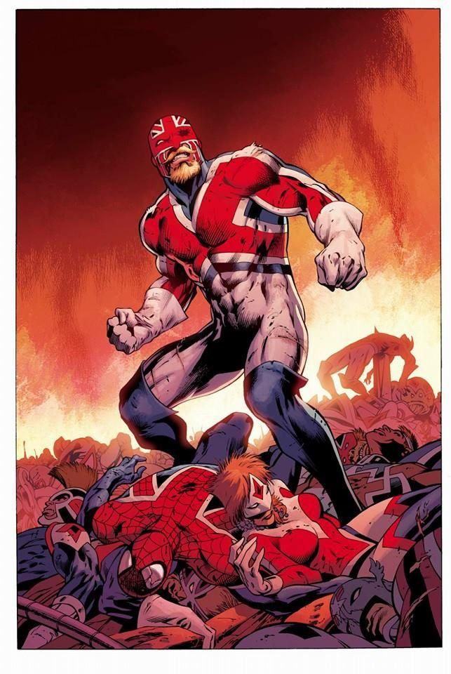 New Avengers #30 - Captain Britain by Alan Davis