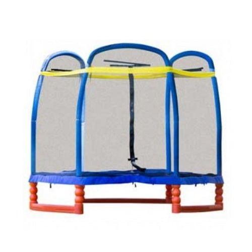 SkyBound Super 7 FT Kids Trampoline with Safety Enclosure System