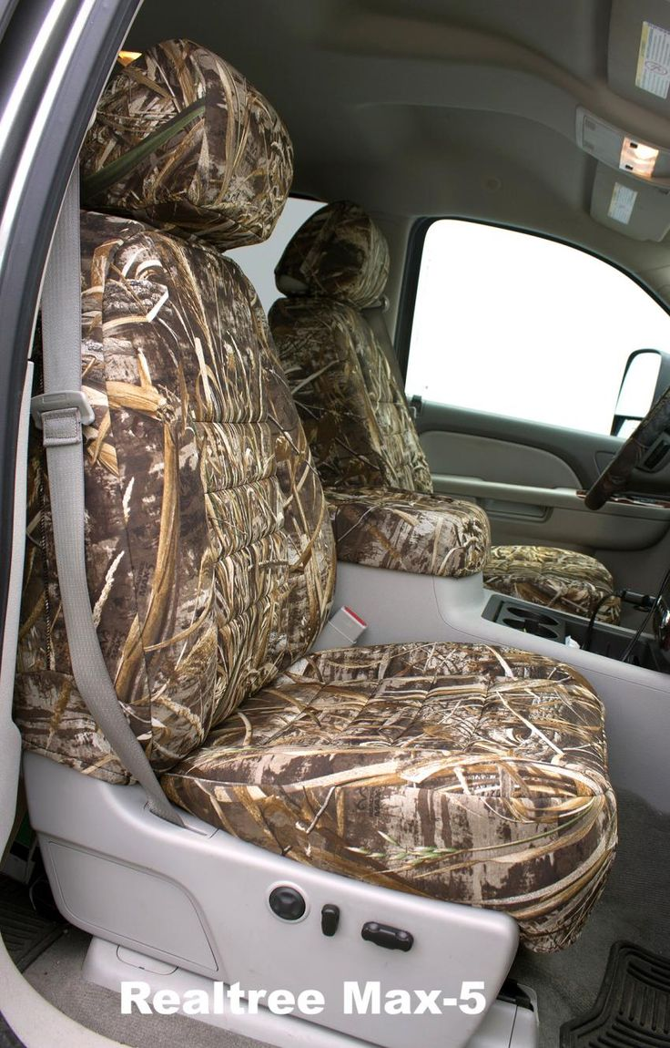 Realtree Max-5 Camo Seat Covers | Realtree B2B