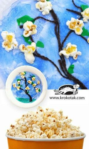 free crafts for kids 15 best popcorn crafts images on popcorn 4507