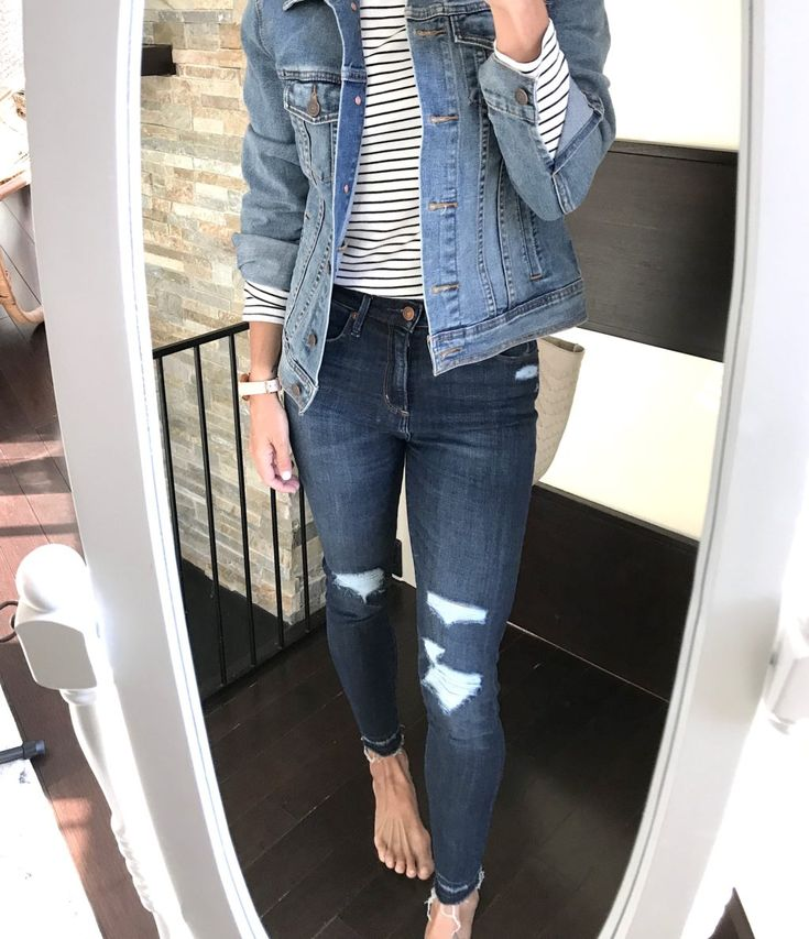 February: The 5 Most Clicked Items | spring style | outfit ideas | style blogger | mom style | casual outfit ideas | winter fashion | spring women's | denim | how to wear denim on denim #fashion #style