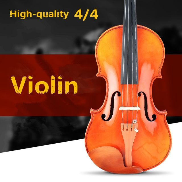 147.25$  Watch now - http://ali9jj.worldwells.pw/go.php?t=32481599858 - V300 0404 Spruce violin 4/4 violin handcraft violino Musical Instruments with violin rosin case 147.25$
