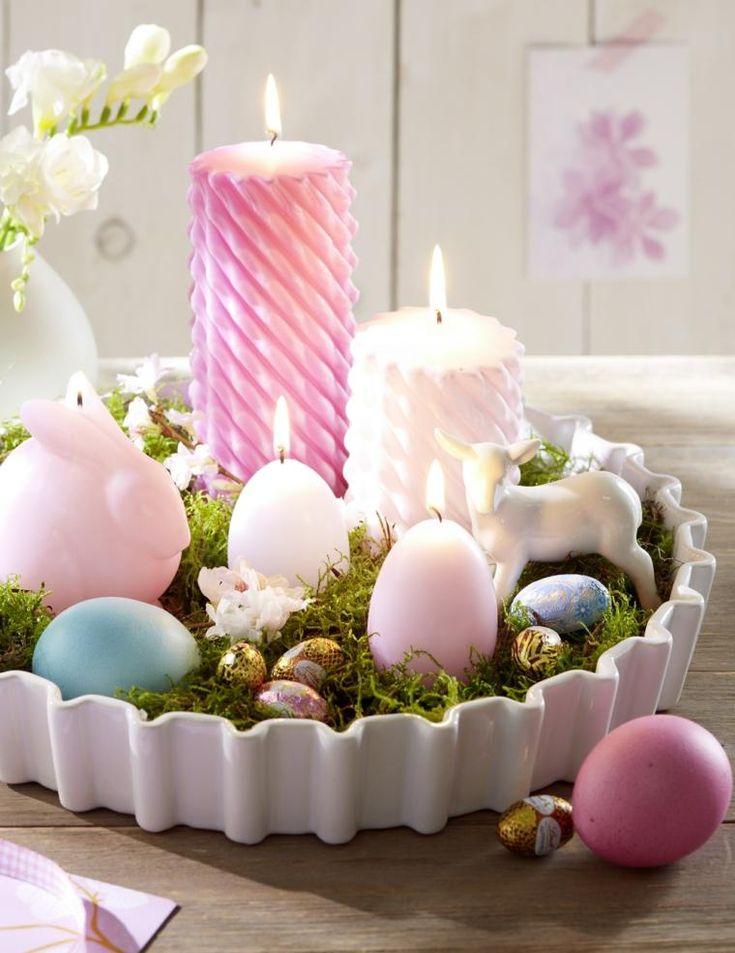 Kerzen – 24 Ideen für originelle Dekorationen