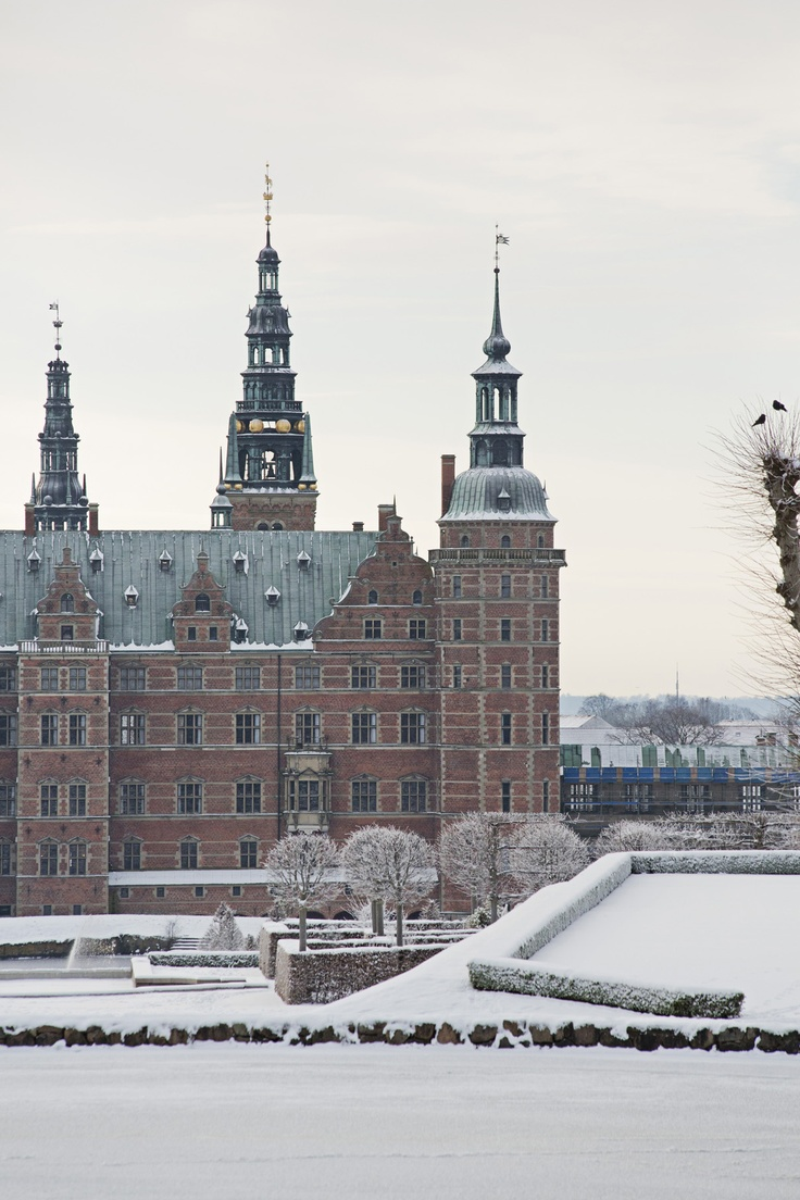 The museum of national history at frederiksborg castle copenhagen - Seen From Across The Icy Castle Lake