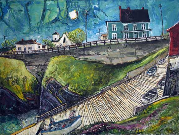 Hauling the Boat, Pouch Cove J.C. Roy