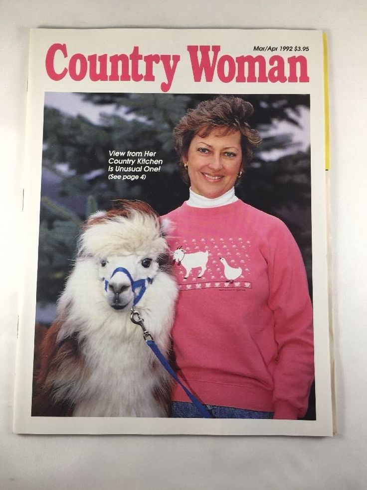 Country Woman Magazine March April 1992 Issue