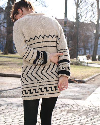 Pickles - Etno Sweater - Knitting Pattern/Yarn Kit