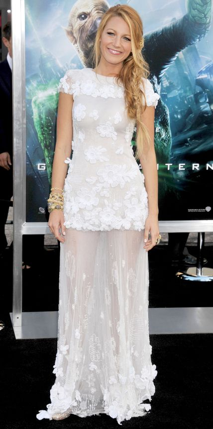 Blake Lively's Red Carpet Style - In Chanel, 2011 - from InStyle.com