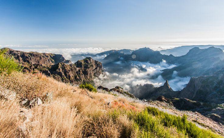 #Madère est un paradis pour la #randonnée, comme ici vers le Pico de Ruivo. #Portugal