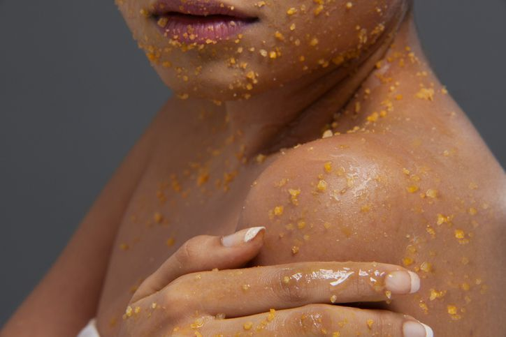 You probably know about exfoliating body scrubs, but do you use them? If you want smooth soft skin you should. Find out the benefits of using an exfoliating body scrub and how to make one yourself.
