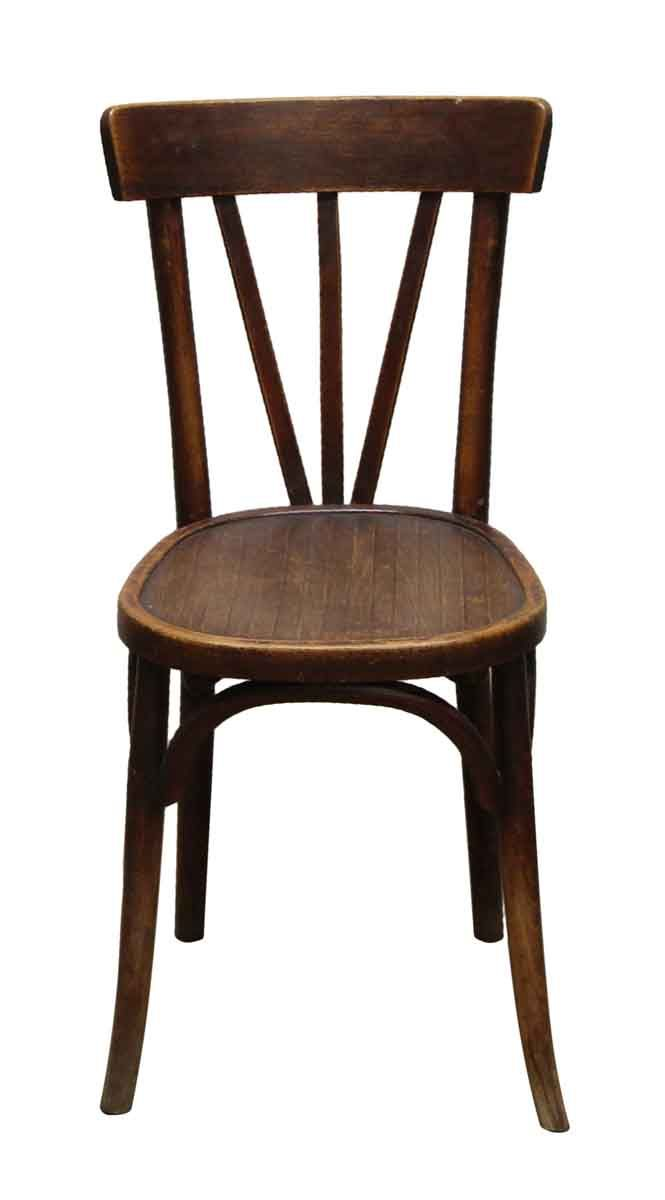 Best Picture Old Wooden Cafe Chair