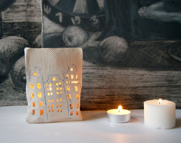 1000 images about papercut on pinterest paper lanterns for Cardboard candle holders