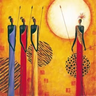 Laminas Decoupage Africa II