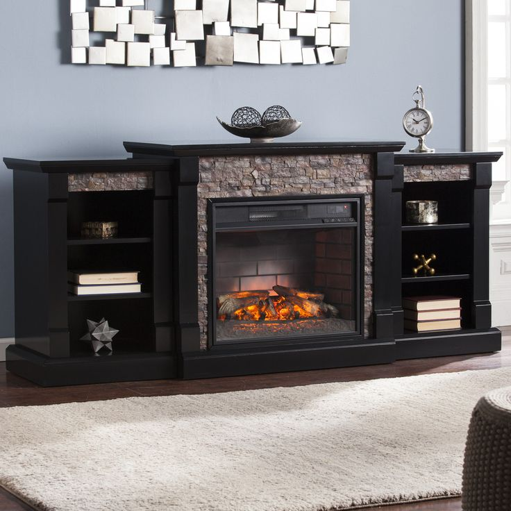featherston electric fireplace electric fireplaces faux. Black Bedroom Furniture Sets. Home Design Ideas