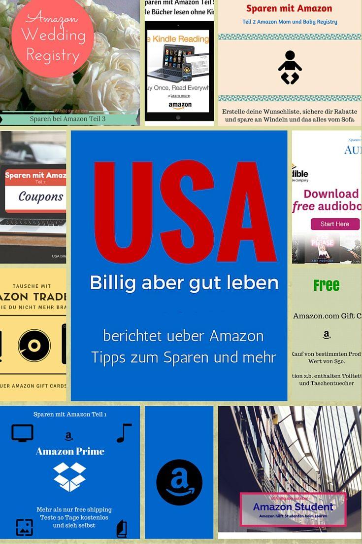 Amazon - Eine Zusammenfassung der Berichte von #UsaBilligAberGutLeben über Tipps zum Sparen und mehr bei #Amazon