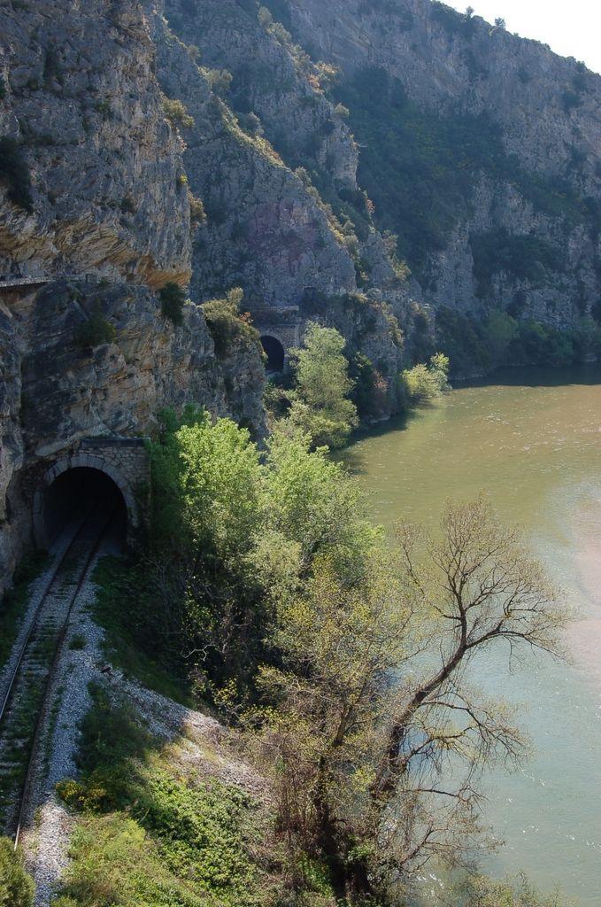 Nestos train tunnel, Xanthi, Greece