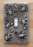 Sea Turtle Single Switch Plate
