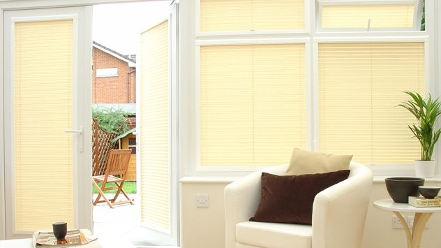 Image result for perfect fit blinds french doors