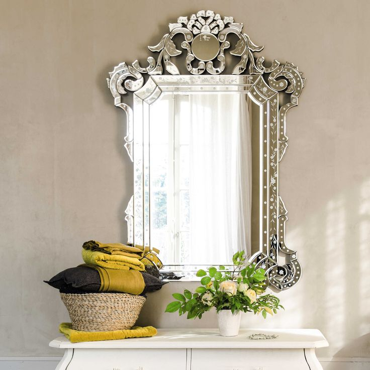 Miroir vénitien H 141 cm CASANOVA