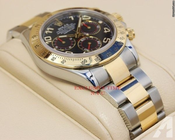 Rolex Daytona Two-Tone Blue Arabic Dial 116523 Price On Request