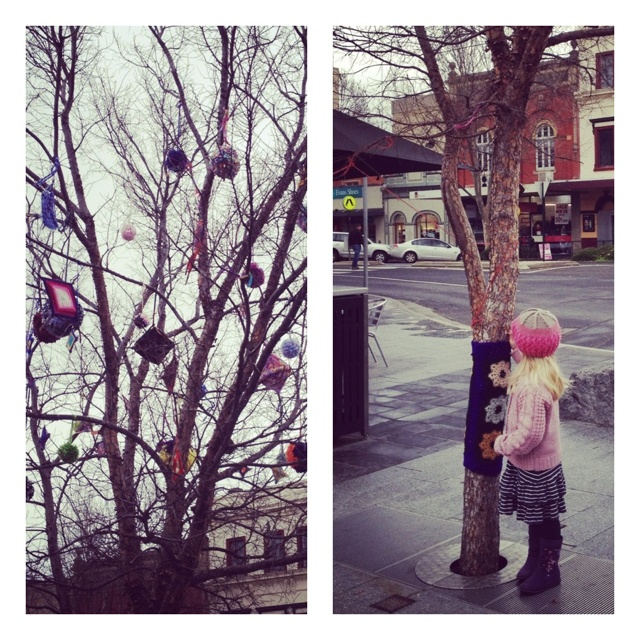 Yarn Bombing #Bendigo Victoria