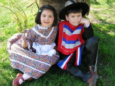 Children from Santiago, Chile