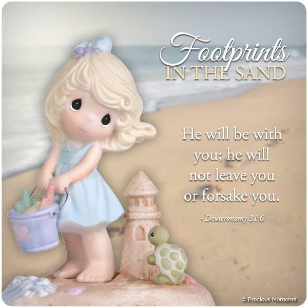 #preciousmoments #inspiration #footprints