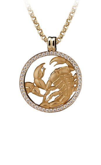 Magerit - Zodiac Collection: Necklace Big Scorpio