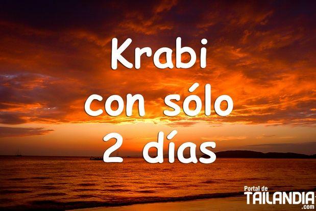 Descubre que hacer en Krabi en solo 2 días. La manera más completa de ver lo mejor de este punto de Tailandia, para los que solo disponen de 48 horas aquí. #krabi #tailandia #quehacer #vacaciones #playas #viajar http://www.portaldetailandia.com/que-hacer-en-krabi-2-dias/