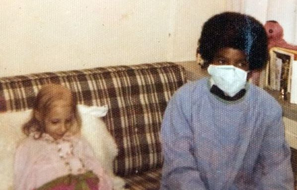 Helping children since he was a child himself. ♥