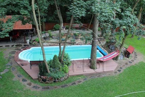 Gfk-Schwimmbecken-inkl-mit-Uberdachung-10x320x150-Pool-Poolhalle-Abdeckung-neu: