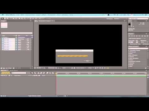 ▶ How to Assemble a Speed Painting using Adobe After Effects Pt.1 - YouTube