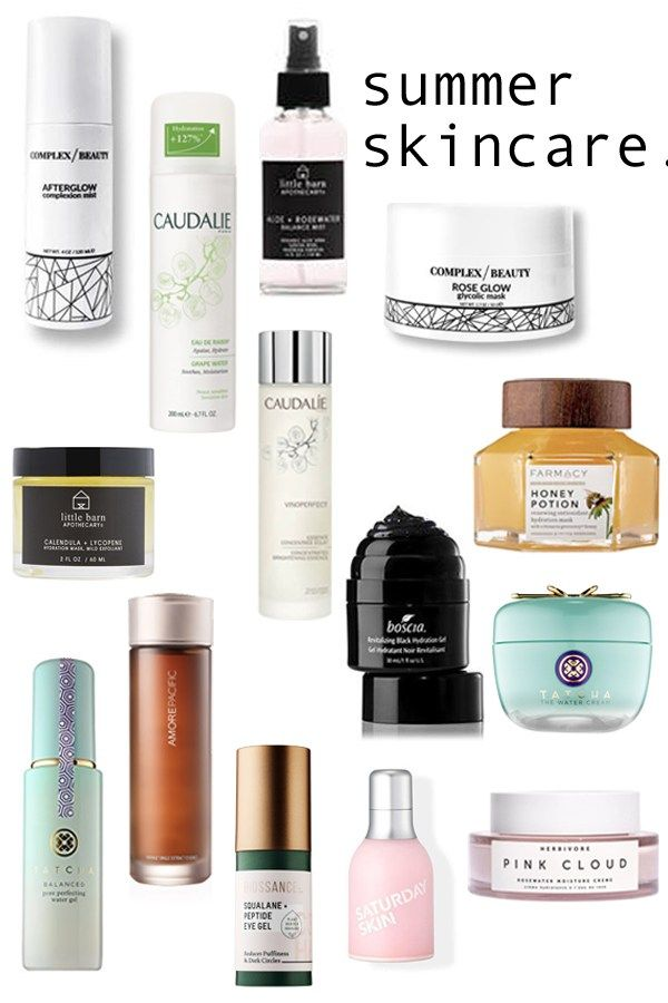 Refresh Your Summer Skincare Products Caked To The Nines Summer Skincare Dry Skin Routine Skin Care