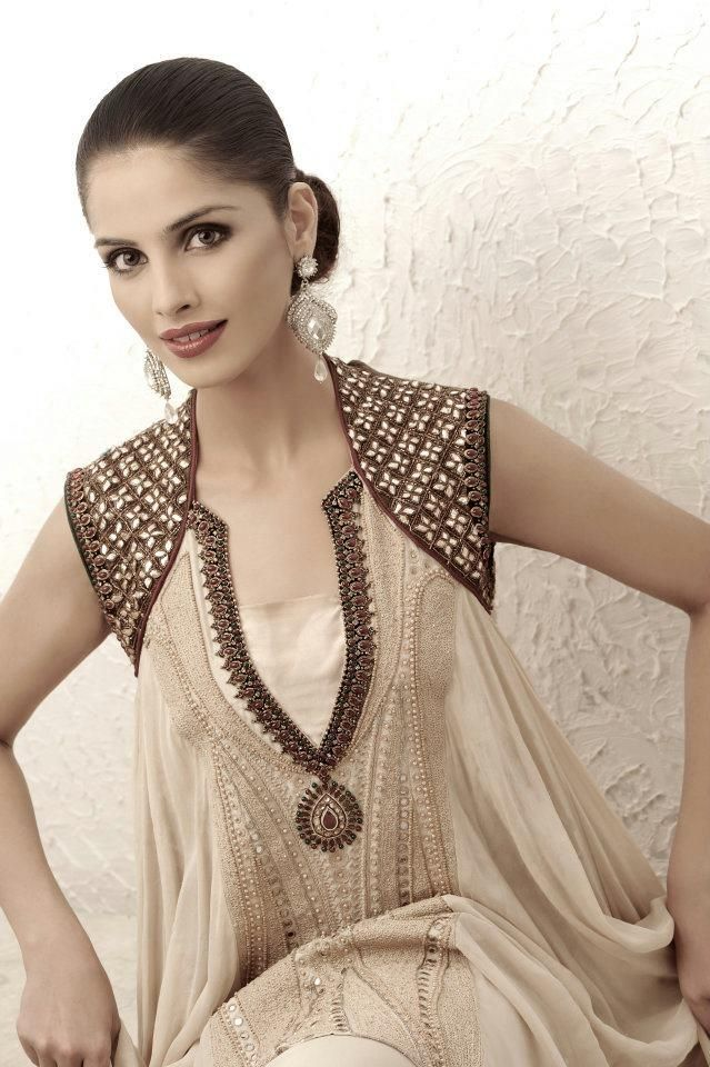 Party Wear Double Shirt Frock And Sharara Dress