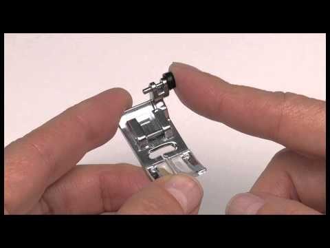 SINGER® All Purpose Clear Lock Presser Foot Tutorial - YouTube