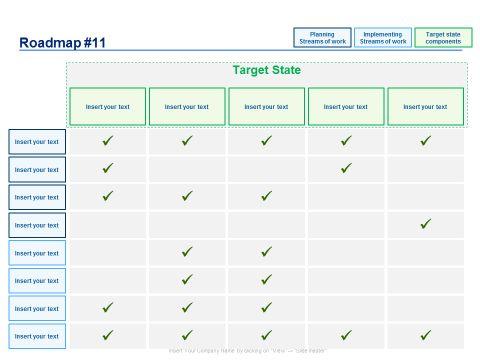7 best Powerpoint Business Roadmaps images on Pinterest Role - roadmap template