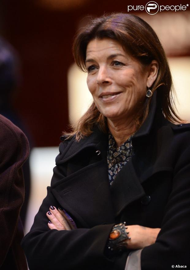 La princesse Caroline de Hanovre 30 novembre 2012.