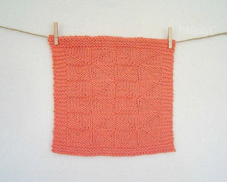 (6) Name: 'Knitting : Kaleidoscope Dishcloth