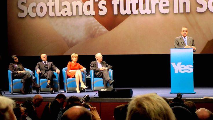 BBC's Nick Robinson telt by Alex Salmond.