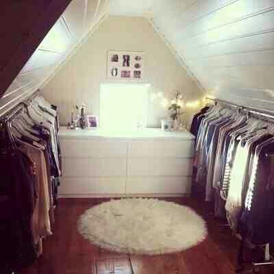 Begehbarer kleiderschrank spitzboden  332 besten dachboden schlafzimmer Bilder auf Pinterest ...