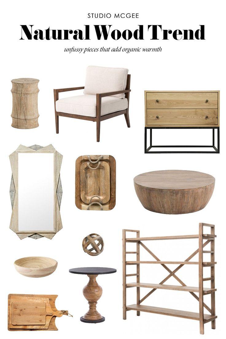 Natural Wood Trend - Studio McGee Blog