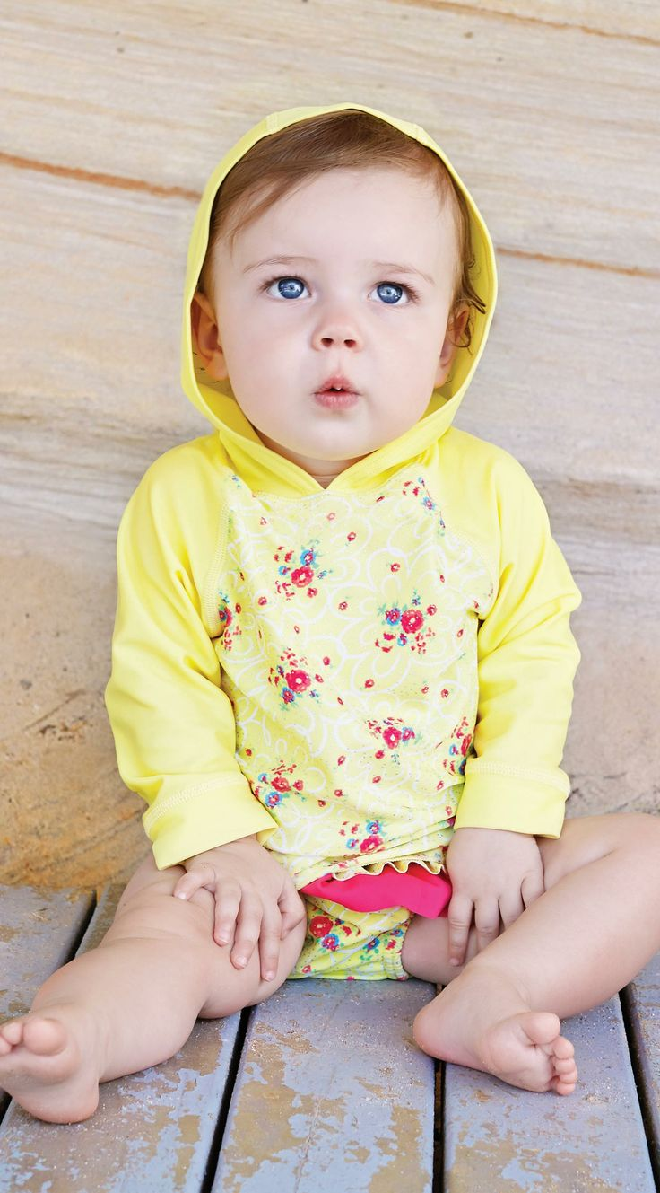 Blossom Baby Suntop by Escargot 6-12m - 18-24m $36.95 #swimwear #hollyandeddie http://hollyandeddie.com.au/category_56/Swimwear.htm