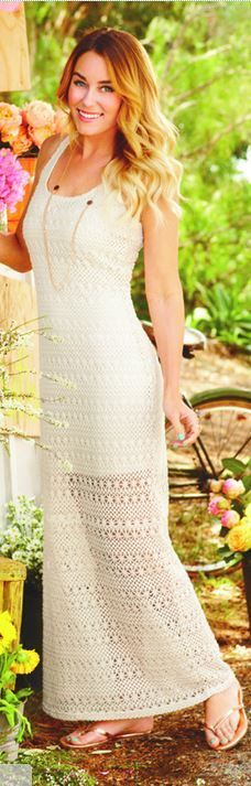 A crochet maxi dress is a must-have for the summer season! Where would you wear one of these beauties?!