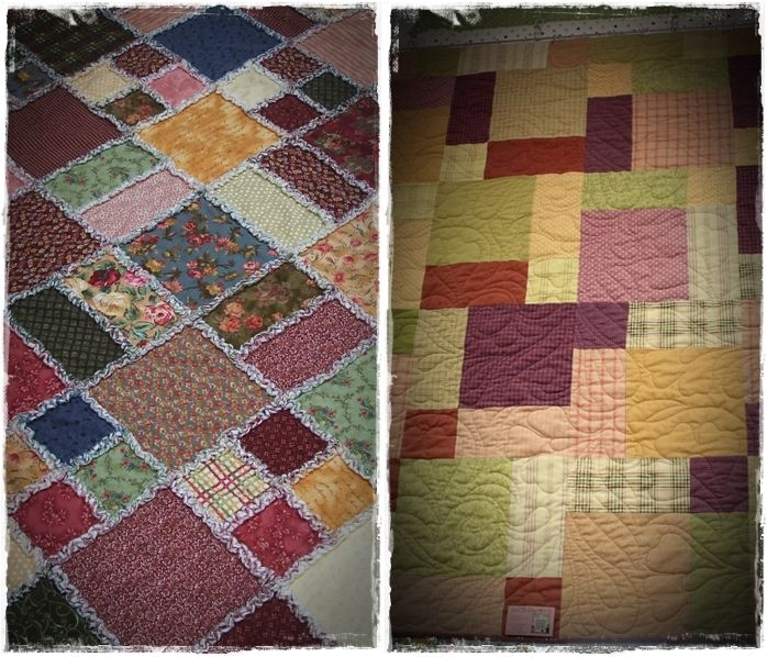 rag quilts how to make strips