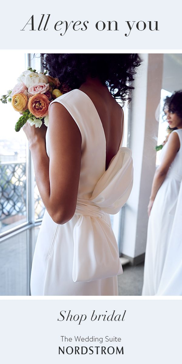 Go glam in a gown that will stun. The Nordstrom Wedding Suite is home to styles for every bride, whether you're looking for a classic gown or a modern twist. Visit in store and take advantage of advice from expert Wedding Stylists.