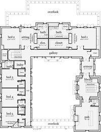 Darien II Castle House - flr 2