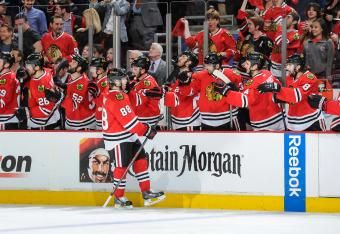 Minnesota Wild vs. Chicago Blackhawks Game 1: time to celebrate with the team
