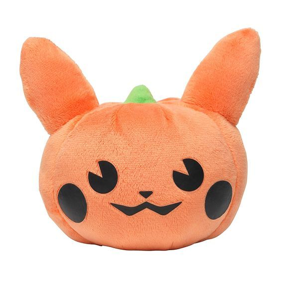 Amazon.com: Pokemon Center Original Pikachu Plush Doll (Pumpkin Ver.) Halloween Parade 2015: Toys & Games
